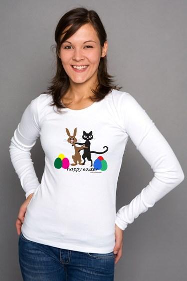 Shirt mit Ostermotiv