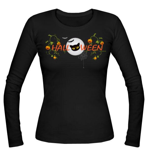 Halloween-Langarmshirt
