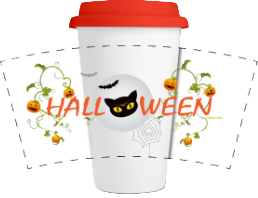 Halloween-Trinkbecher