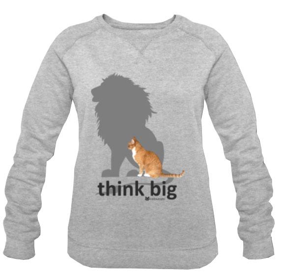 think big_Sweatshirt grau