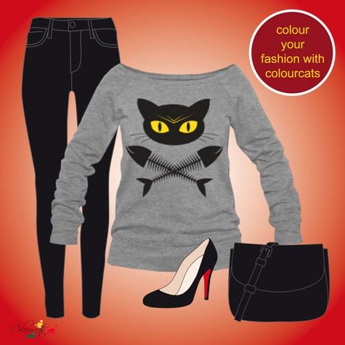 bad cat - Outfit