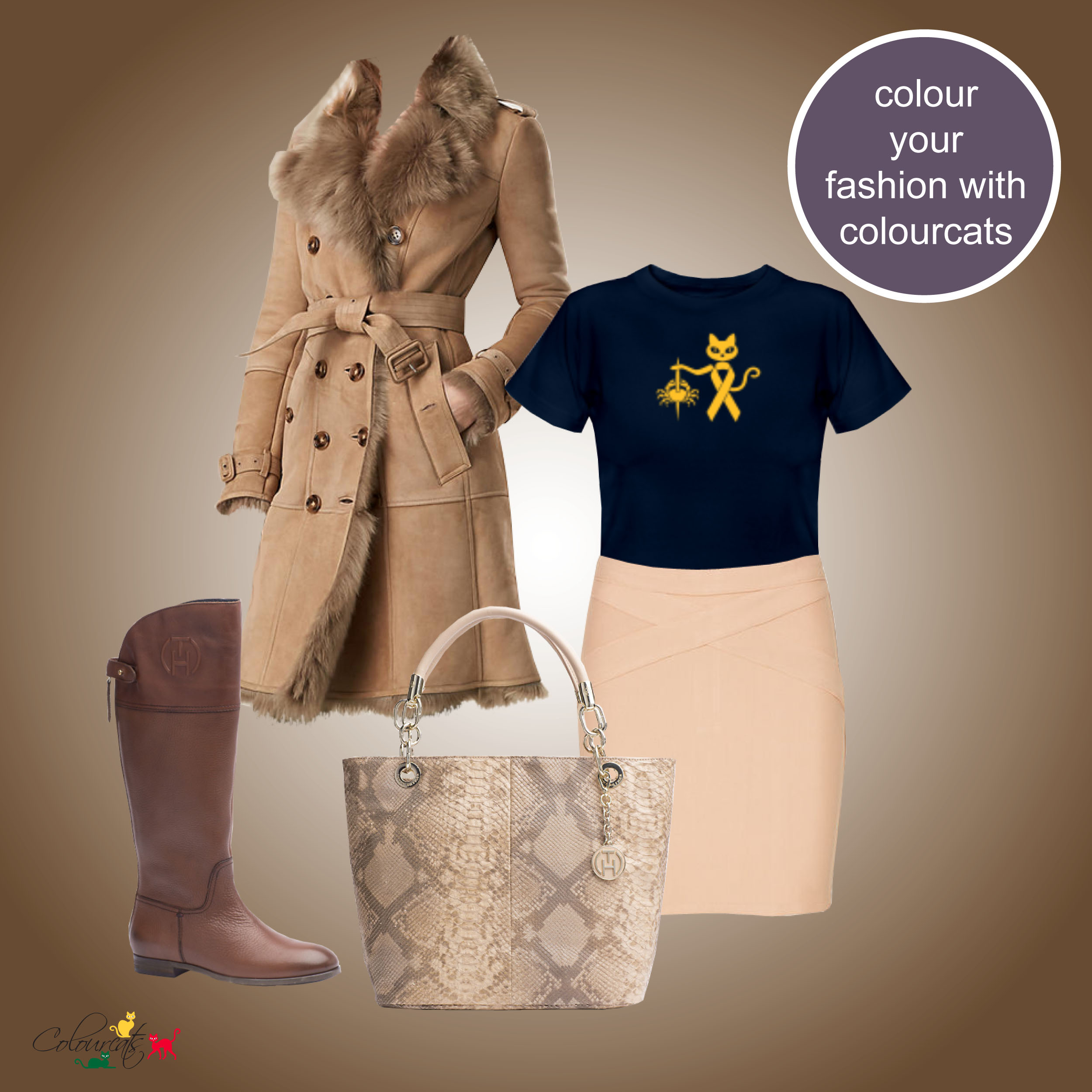 colourcats against cancer - Outfit