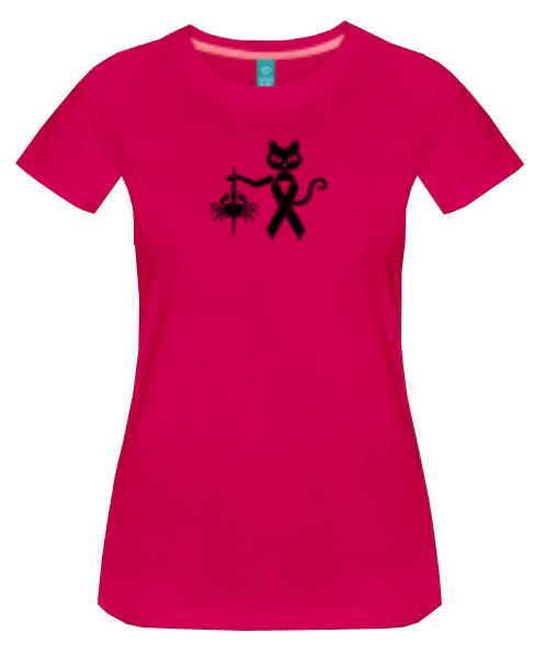 colourcats against cancer - Shirt pink