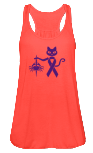 colourcats against cancer - Top Koralle